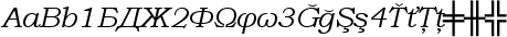 Bookman Old Style font preview